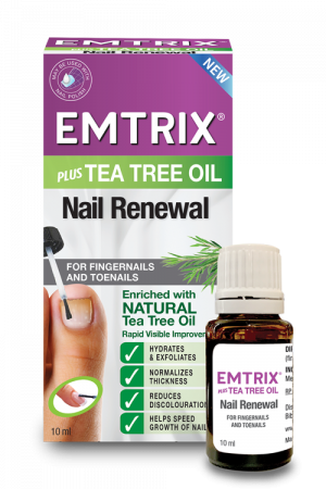 Emtrix® Nail Renewal Plus Tea Tree Oil